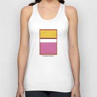 rothko Tank Tops featuring Simplified Rothko by ELCORINTIO