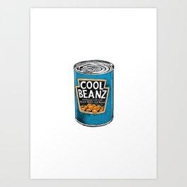 Cool Beanz Art Print