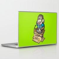 ape Laptop & iPad Skins featuring DJ Ape by Leon-Design