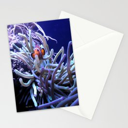 Clown Fish Anemone Stationery Cards