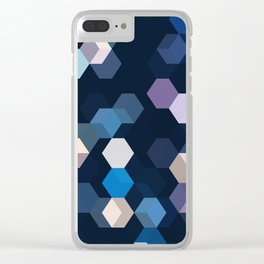 HONEYCOMB Clear iPhone Case