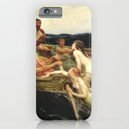 Odyssey By James Herbert Draper iPhone Case