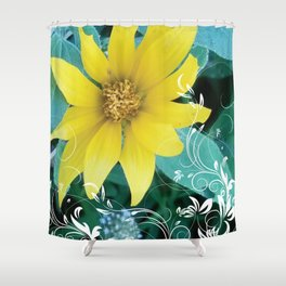 Shine like a Sunflower Shower Curtain