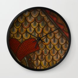 Attic Window Wall Clock