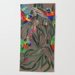 Birds of Paradise. Beach Towel