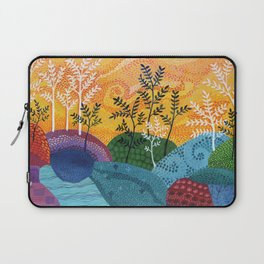 on and on fields Laptop Sleeve