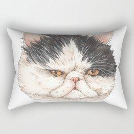 Bacon the Persian - artist Ellie Hoult Rectangular Pillow