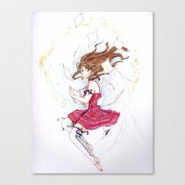 Tsubasa no Yume Canvas Print