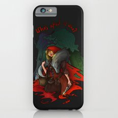 Who's Afraid of Who? iPhone 6s Slim Case