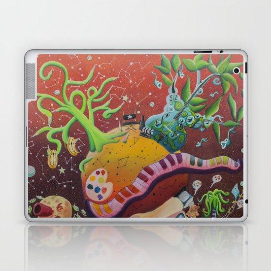 Inspired planet Laptop & iPad Skin