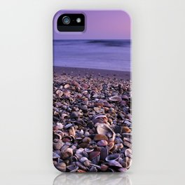 The Beach Of The Shells iPhone Case