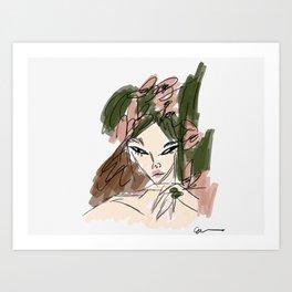 The Callie Art Print