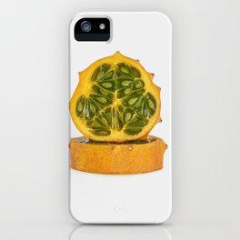 Kiwano Melon iPhone Case