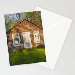 Abandoned Shack, Washburn, North Dakota 1 Stationery Cards