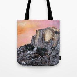 Yosemite Oil Painting Tote Bag