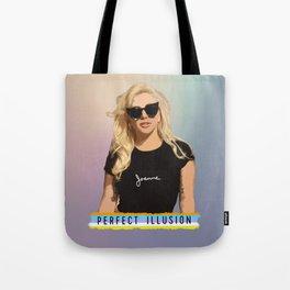 Perfect Illusion Tote Bag