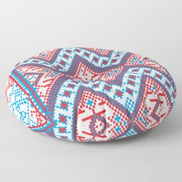 Slavik Cross stitch pattern Floor Pillow