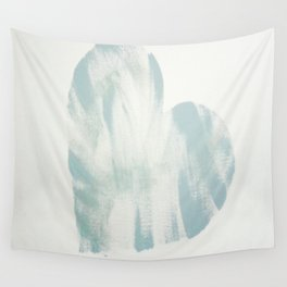 blue, Love Wall Tapestry