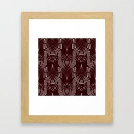 Brown decor Framed Art Print