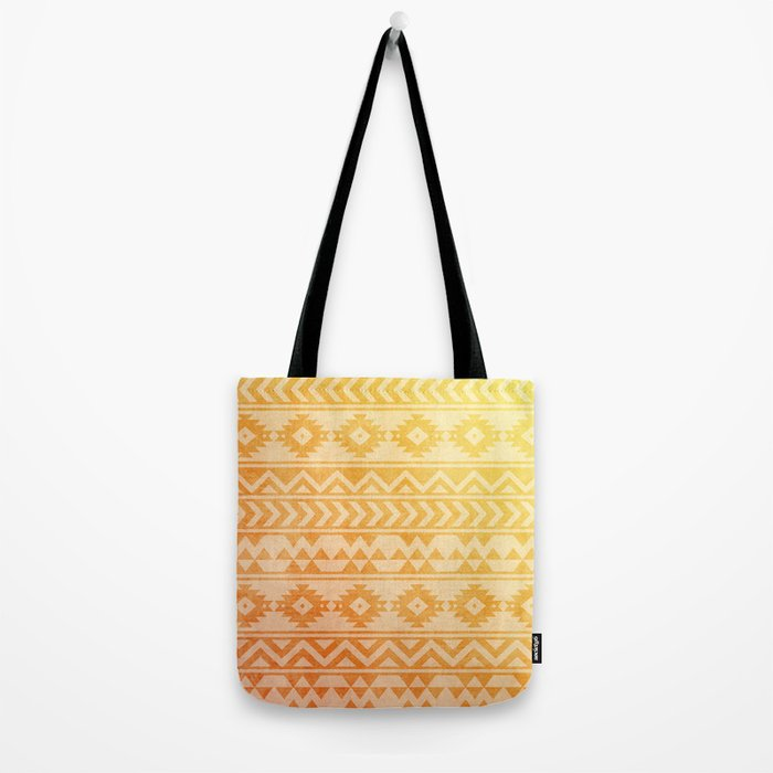 Aztec Pattern 08 Tote Bag