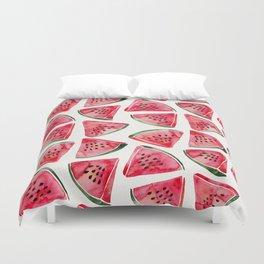 Watermelon Slices Duvet Cover