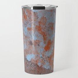 Circle and textures Travel Mug