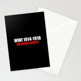 Commemoration WWI 1914-1918 Stationery Cards
