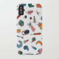 bugs iPhone & iPod Cases featuring BUGS by Friederike Ablang
