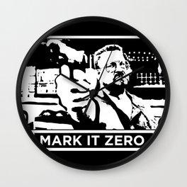 Mark It Zero Wall Clock