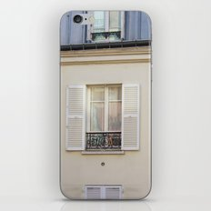 Parisian window iPhone & iPod Skin