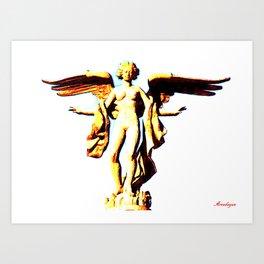 Victoria Alada  ( Winged Victory) Art Print