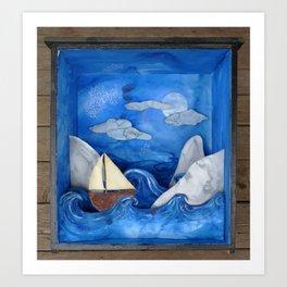 czech voyage Art Print
