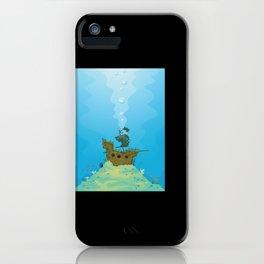 Sunken Ship Archaeology Archaeologist iPhone Case