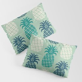Retro Mid Century Modern Pineapple Pattern 88 Pillow Sham