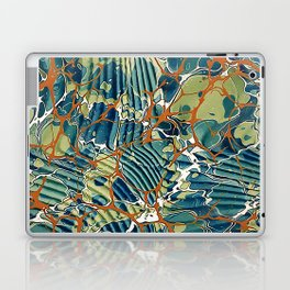 Old Marbled Paper 05 Laptop & iPad Skin
