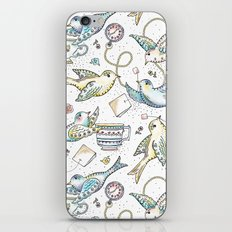 Twittering Tea Party iPhone & iPod Skin