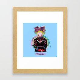 Veronika Framed Art Print