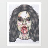 ultraviolence Art Prints featuring ULTRAVIOLENCE by Jeremy Cain