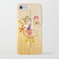 carousel iPhone & iPod Cases featuring Carousel by José Luis Guerrero