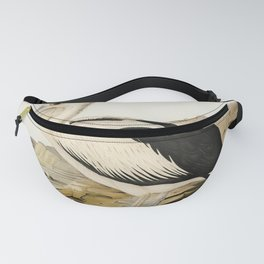 Pied oyster-catcher from Birds of America (1827) by John James Audubon etched by William Home Lizars Fanny Pack