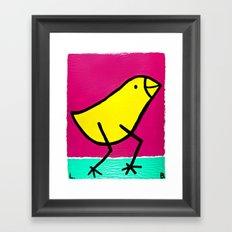L. Bird Framed Art Print