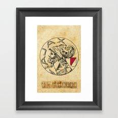 ajax beste jeugdopleiding van de wereld Framed Art Print
