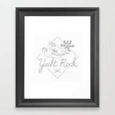 Yacht Rock Framed Art Print