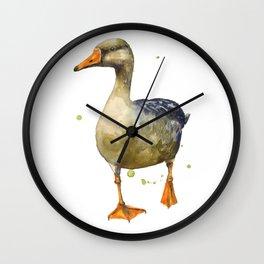 Graceful Goose Wall Clock