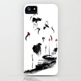 7 Cranes iPhone Case