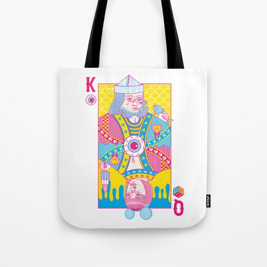 King Of Nothing, Queen Of Nowhere Tote Bag