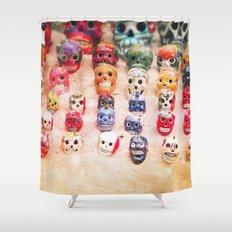 Sugar Skulls Shower Curtain