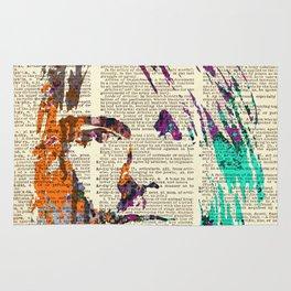Nirvana art on dictionary #2 Rug