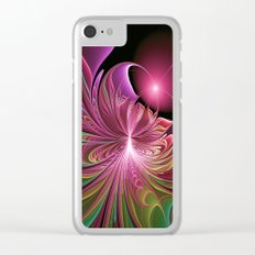 Bursting with Color Clear iPhone Case