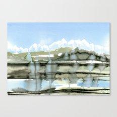 Unfreezing Canvas Print